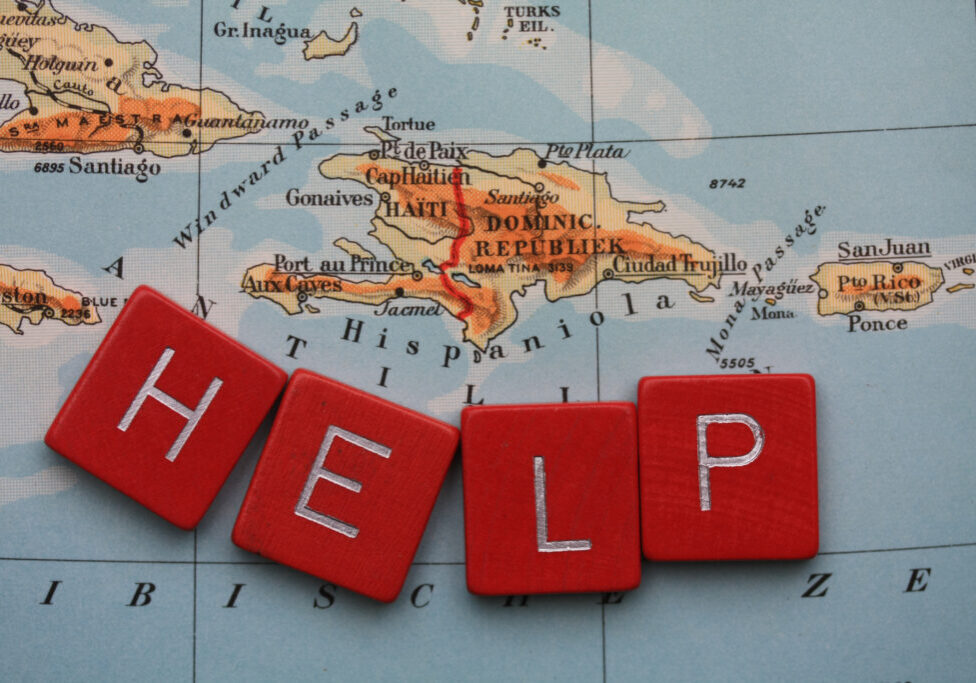 Help Haiti with a donation to rebuilt